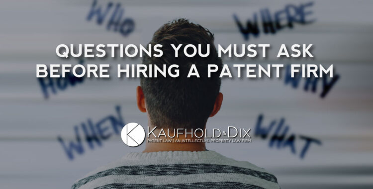 Patent Firm Hiring Questions