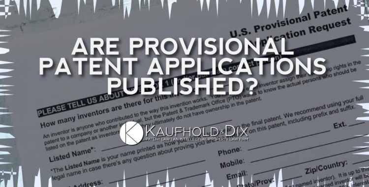 Patent Search - Provisional Patent Applications