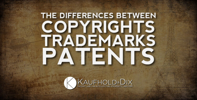 Copyrights, Trademarks, Patents