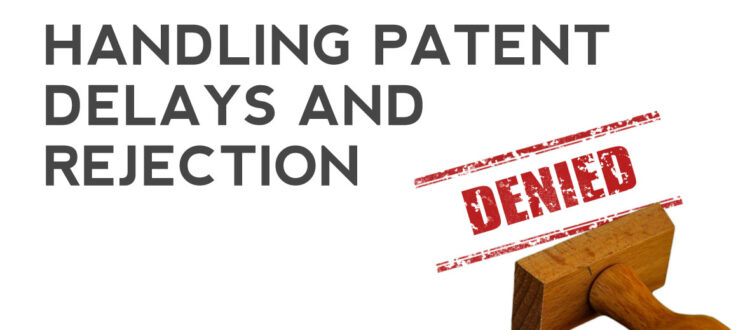 Patent Delays and Patent Rejection